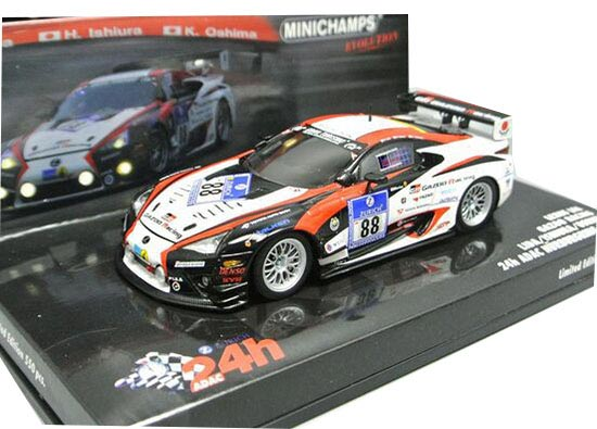 1:43 Scale Minichamps NO.88 Lexus LFA Model