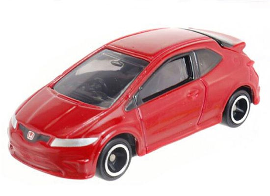 Red 1:68 Scale Kids Diecast Honda Civic Type R Euro Toy