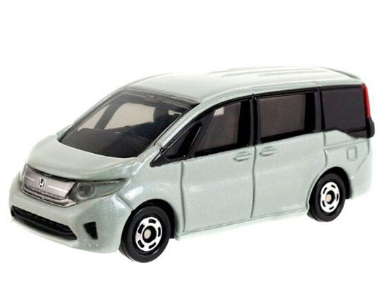 Silver 1:65 Scale Kids Diecast Honda Step WGN Toy