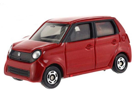 Red 1:58 Scale Kids NO.81 Diecast Honda N-ONE Toy