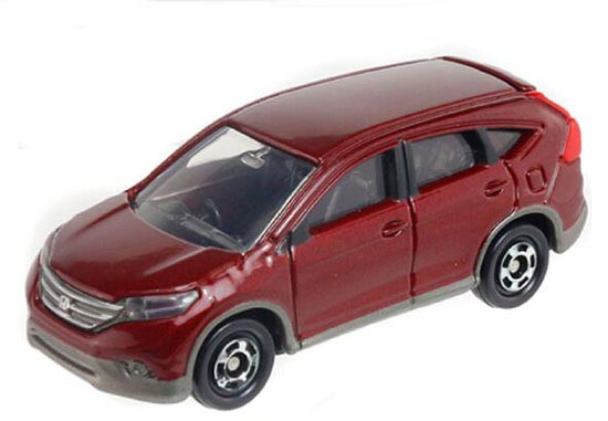 Wine Red 1:66 Scale Kids Diecast Honda CR-V Toy