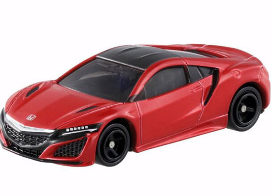 Red / White 1:62 Scale Kids Diecast Honda Acura NSX Toy