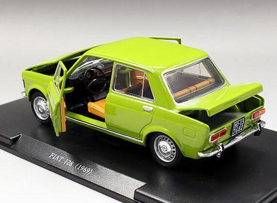 124 Scale Whitebox Diecast 1969 Fiat 128 Model Na02t0810