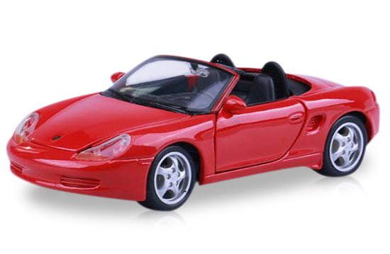 1:24 Red Maisto Diecast Porsche Boxster Model
