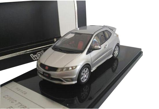 1:43 Scale Diecast Honda CIVIC TYPER FN2 EURO Model
