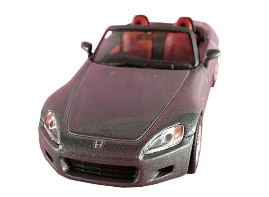 Gray 1:43 Scale Kids Diecast Honda S2000 Toy