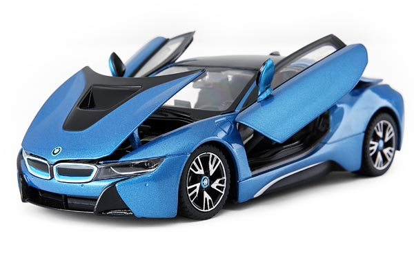 Rastar Black / Red / Blue / White 1:24 Diecast BMW I8 Model