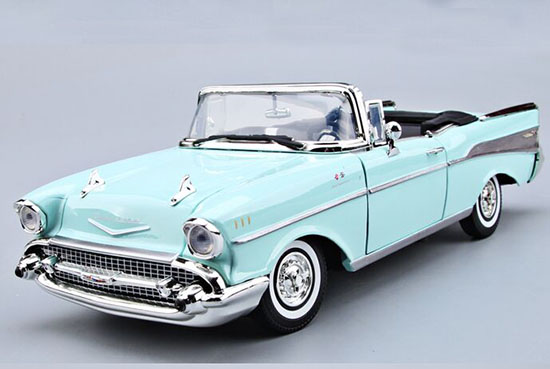1:18 Scale MotorMax 1957 Diecast Chevrolet Bel Air Model