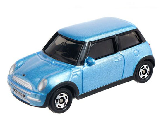 Blue 1:57 Scale Tomy Tomica NO.43 Kids Diecast Mini Cooper Toy