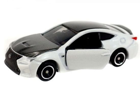 White-Black 1:59 Tomy Tomica NO.13 Kids Diecast Lexus RC F Toy