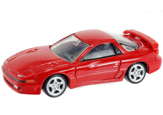 Red 1:63 NO.18 Kids Diecast Mitsubishi GTO TWIN TURBO Toy