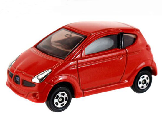 Red 1:56 Scale Tomy Tomica NO.111 Kids Diecast Subaru R1 Toy