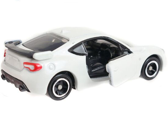 White 1:60 Scale Tomy Tomica NO.86 Kids Diecast Toyota 86 Toy
