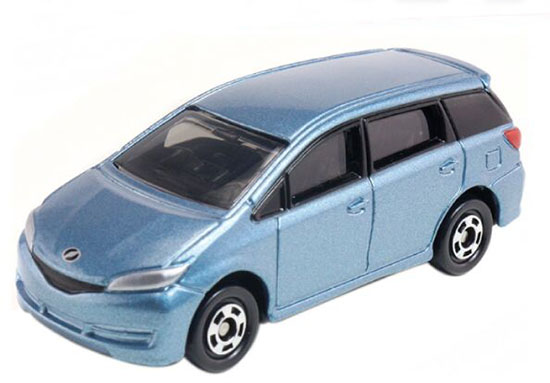 Blue 1:61 Scale Tomy Tomica Kids NO.93 Diecast Toyota Wish Toy