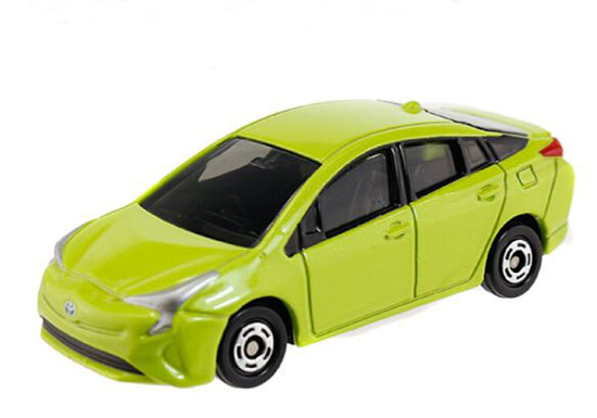 Green 1:65 Tomy Tomica Kids NO.50 Diecast Toyota Prius Toy