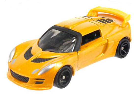 Yellow 1:56 Tomy Tomica NO.50 Kids Diecast Lotus Exige S Toy