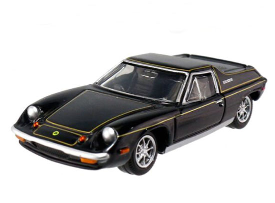 Black 1:59 Scale NO.05 Kids Diecast Lotus Europa Special Toy