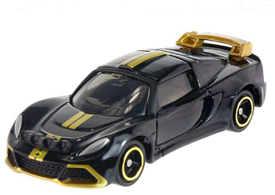 Black 1:59 Tomy Tomica NO.10 Kids Diecast Lotus Exige R-GT Toy
