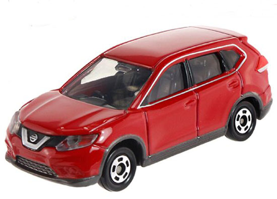 Red 1:63 Tomy Tomica NO.21 Kids Diecast Nissan X-Trail Toy