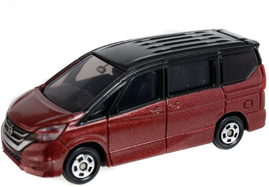 Wine Red 1:67 Tomy Tomica Kids NO.94 Diecast Nissan Serena Toy