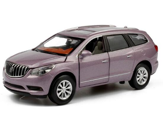 White / Black / Purple Kids 1:32 Scale Diecast Buick Enclave Toy
