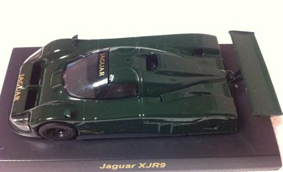 Deep Green 1:64 Scale Kyosho Diecast Jaguar XJR9 Model