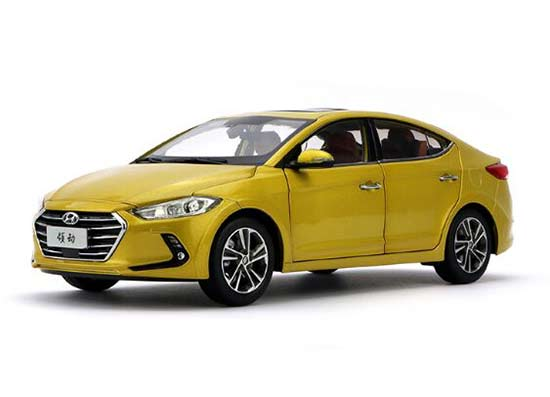 Blue /Yellow /White /Silver 1:18 Diecast Hyundai Elantra Model