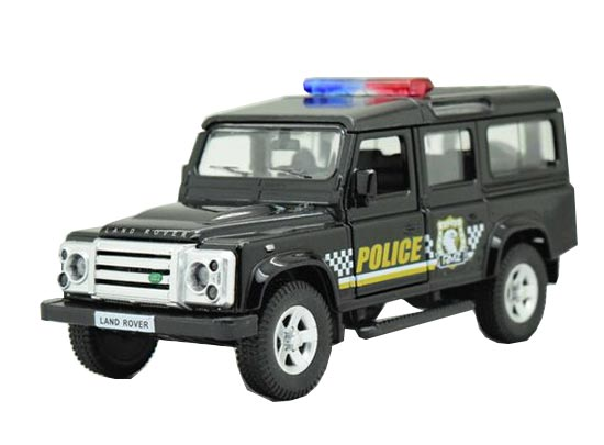 Kids Black 1:36 Scale Diecast Land Rover Defender Toy