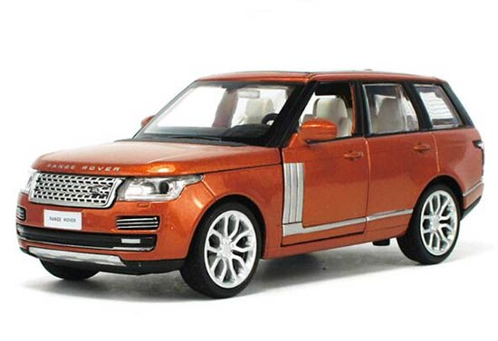 Orange / Blue / Champagne 1:32 Kids Diecast Range Rover Toy