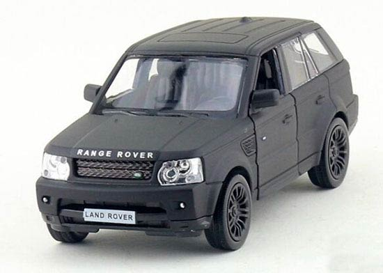 Black 1:36 Scale Kids Diecast Land Rover Range Rover Toy
