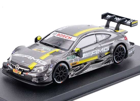 1:43 Kids Gray NO.3 Diecast Mercedes-Benz C63 AMG DTM Toy