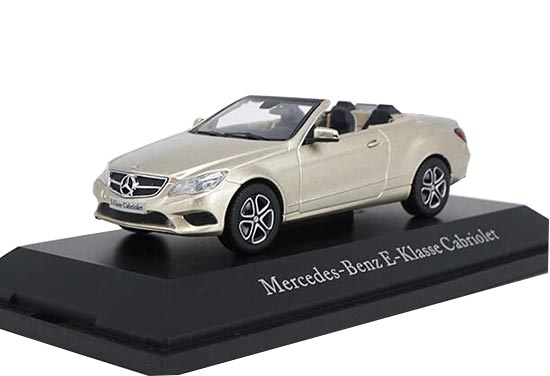 1:43 Golden Diecast Mercedes-Benz E-Class Cabriolet Model