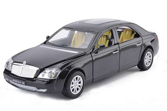 Red / Black / White / Pink 1:32 Scale Mercedes-Benz Maybach Toy