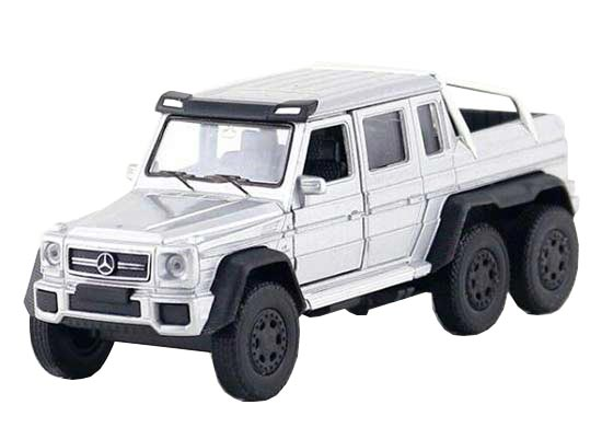 1:36 Welly Diecast Mercedes-Benz G63 AMG Pickup Truck Toy