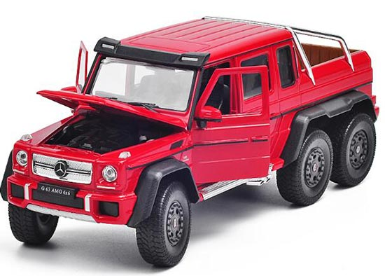 Welly 1:24 Diecast Mercedes-Benz G63 AMG Pickup Truck Model