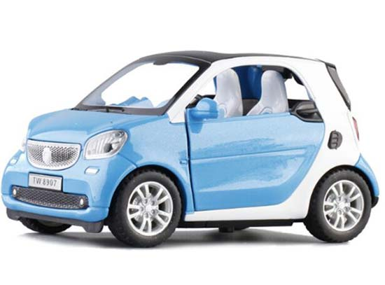White /Blue /Red /Pink Diecast Mercedes-Benz Smart Fortwo Toy