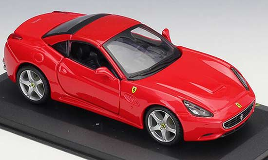 1:32 Scale Red Bburago Diecast Ferrari California Model
