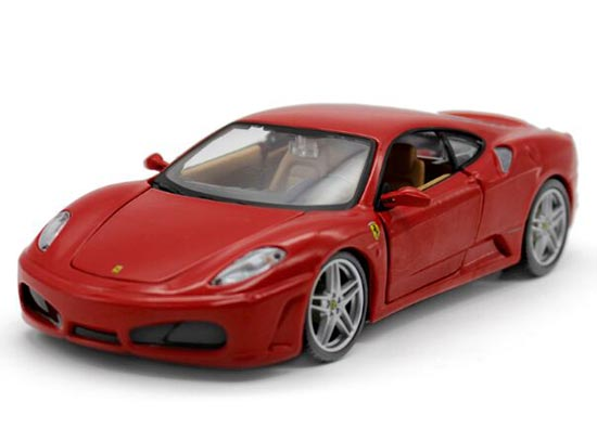 1:24 Scale Red / Yellow Bburago Diecast Ferrari F430 Model
