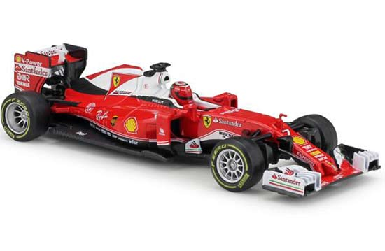 Bburago 1:32 Scale Red NO.7 Diecast Ferrari SF16-H Model