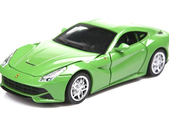 Blue / Red / Green / Yellow 1:32 Kids Diecast Ferrari F12 Toy
