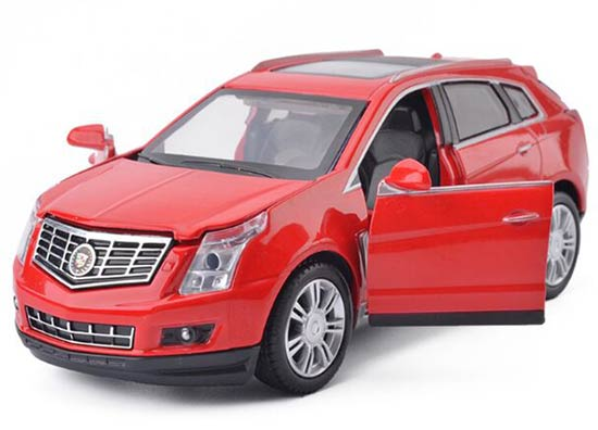 1:32 Red / Champagne / White Kids Diecast Cadillac SRX Toy