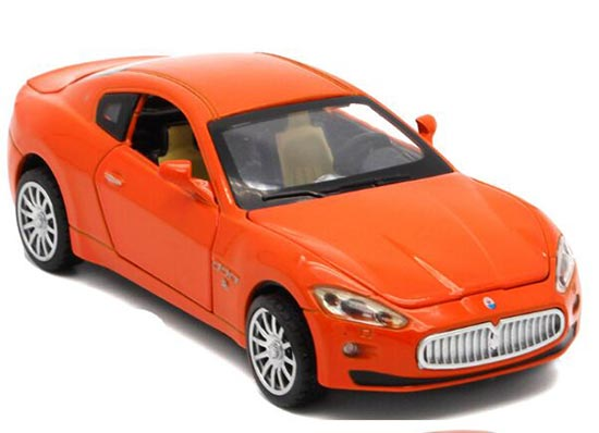 Red / Yellow / Orange / White 1:32 Diecast Maserati Ghibli Toy