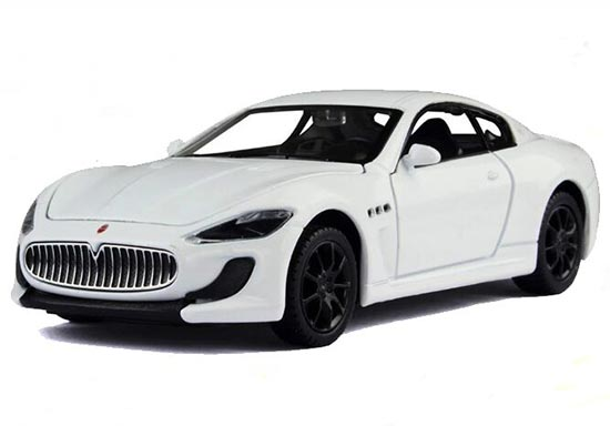 1:32 White / Red / Blue Kids Diecast Maserati Gran Turismo Toy