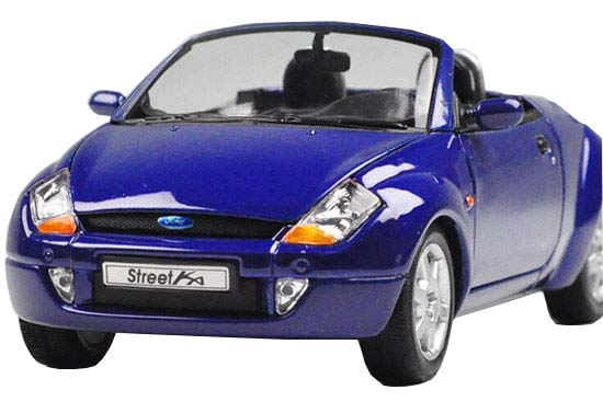 1:24 Scale Red / Blue Welly Diecast 2003 Ford Street KA Model