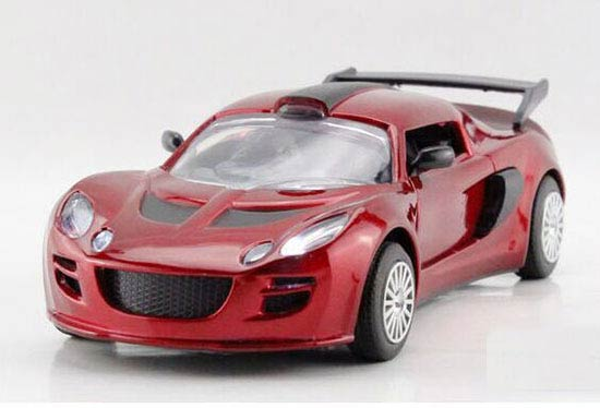 Red / Yellow / Wine Red /White Kids 1:32 Diecast Lotus Exige Toy