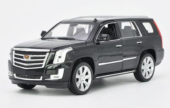 1 24 Scale Black White Diecast 2017 Cadillac Escalade