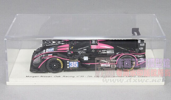 Black 1:43 Scale NO.35 2013 LM Nissan Racing Car Model