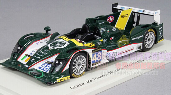Colorful 1:43 Scale NO.48 2013 LM Nissan Racing Car Model