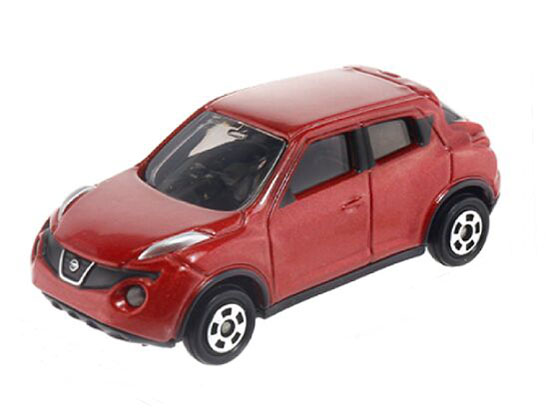 Red 1:64 Scale TOMY NO.27 Diecast Nissan JUKE Toy