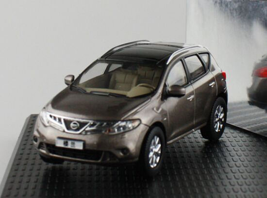 Gray 1:43 Scale Diecast Nissan MURANO Model